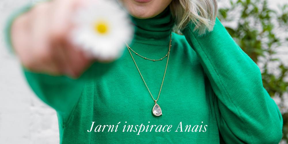 Jarní inspirace kolekce Anais