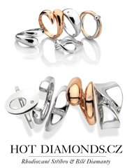 St��brn� prsteny s diamanty