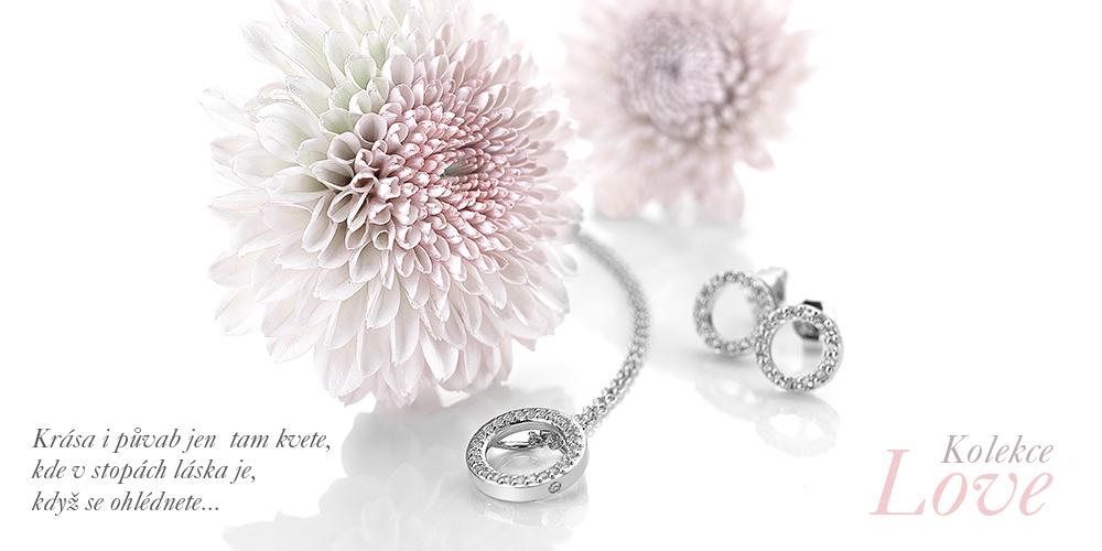 Love - dokonalá kolekce støíbrných symbolù lásky