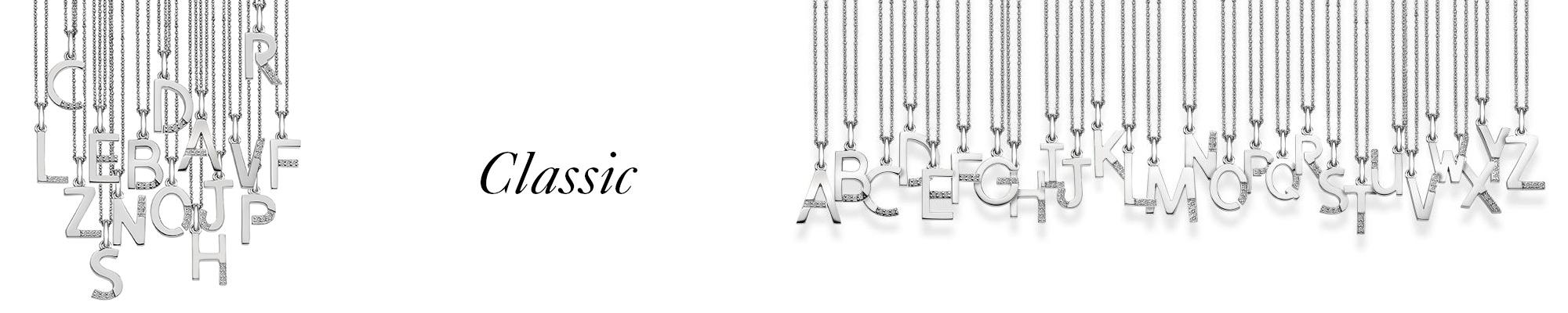 kolekce Classic - písmena - abeceda