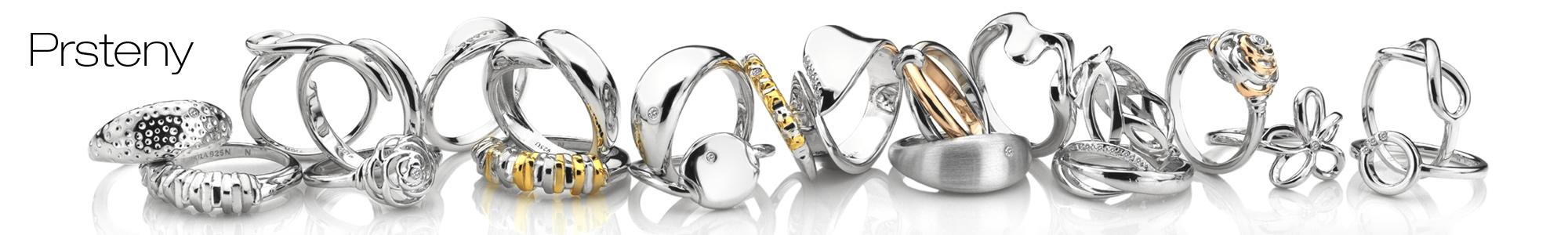 Prsteny Hot Diamonds